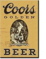 Coors Golden Bier Stahl Kühlschrank Magnet (De)