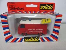Solido Toner Gam II Peugeot No 2120