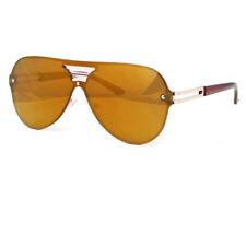 Large Oversized Shield Women Sunglasses Huge XL Frame Aviator Futuristic Lens Ne