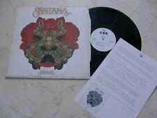 Santana Festival Advance Promo LP + Radiosheet