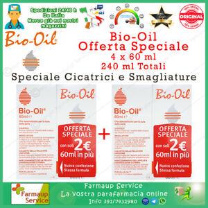 Bio-Oil Olio Dermatologico Bio Oil Speciale X Cicatrici e Smagliature 4 x 60 ml