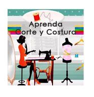 Kit Aprende Corte Costura Patrones Colección Confección - Articulos Digitales
