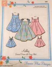 """Pattern """"ASHLEY""""' by Bonnie Blue Designs  SZ: 2 yr - 10 yr"""