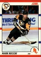 1990-91 (PENGUINS) Score Canadian #186 Mark Recchi RC