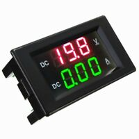 Daniu YB4835VA 0-100V 20A Double Présentoir Volt Meterr Current Digital LED