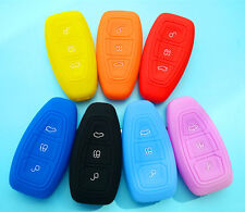 FORD SILICON CAR KEY REMOTE COVER CASE RANGER FIESTA FUSION FIGO FOCUS