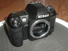 Nikon N80 film camera. Works, but need new back door.