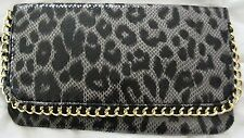 LADIES Fold Over Clutch Bag-New