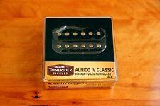 Tonerider handwound Alnico IV Classic Neck pu ac4 vintage PAF 8 kOhm Open Black
