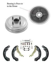 Aveo With ABS To Vin # 426446 (2) Drum With Rr Bearings Brake Shoes + Combi Kit