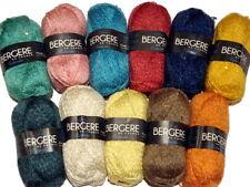Bergere de France Estivale Hand Knitting Yarn Hemp Blend with Sparkly Sequins