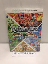 POKEMON BIANCO E NERO 2 GUIDA STRATEGICA VOLUME 2 NUOVA ITA POKEDEX