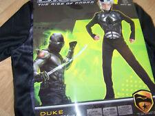 Boy's Size Medium 7-8 G I Joe The Rise of Cobra Duke Halloween Costume & Mask