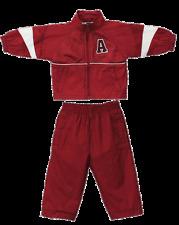 Boys ALABAMA college Crimson Tide windsuit 18 months Licensed Set Jacket Pants