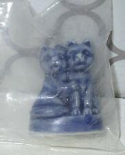 Wade England Figurine Two Blue Cats