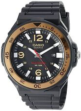Casio Solar Powered MRWS310H-9BV Mens Watch, Tough Analog Automatic Black & Gold