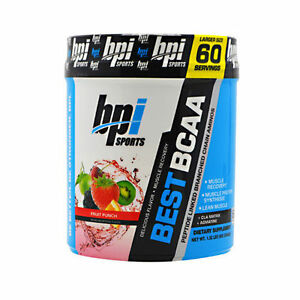 BPI Sports BEST BCAA 60 servings - AMINO ACIDS - CLA - FREE SHIP - CHOOSE FLAVOR