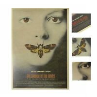 "The Silence of the Lambs Movie Poster Film Retro Art Craft Paper Poster 14""*20"""