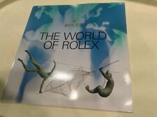 Pamplet / Catalog Vintage Rolex The World Of Rolex