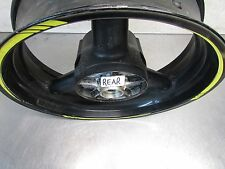 O SUZUKI GSX  650 F 2008   OEM  REAR WHEEL RIM