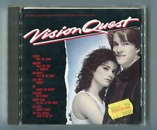 Vision quest Japon CD OST Musique de film © 1986 # 32xd-471 Madonna John waite 10-tr