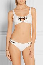 Agent Provocateur White Lilah Bikini Set (Top & Bottom) Size 2 = US S - NWT
