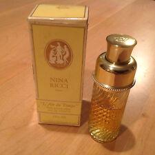 Vintage Nina Ricci Paris Eau de Toilette 2.5 Oz.