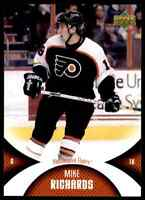 2006-07 Upper Deck Mini Jersey Collection Mike Richards #72