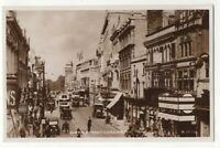 Cardiff Queen Street Vintage RP Postcard 178c