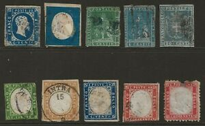 ITALY/ITALIAN STATES collection early classic stamps TUSCANY/SARDINIA, huge cat