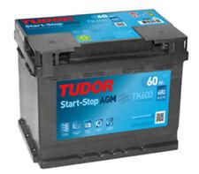 Batería Tudor TK600 - 60Ah 12V 680A. 242x175x190