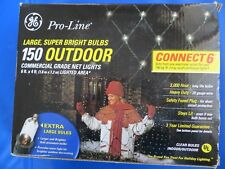 Christmas: NET LIGHTS,  150 Outdoor COMMERCIAL GRADE Heavy Duty 6 ' X 4'  NEW!