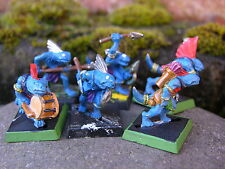 WARHAMMER Uomini Lucertola Scinco Festa di caccia x6, dipinto #1