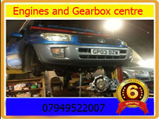 TOYOTA RAV4 2.0 VVTI  PETROL RECONDITIONED ENGINE  SUPPLY AND FIT 01-08 RECON