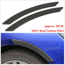 2pc Car Fender Flares Sticker Extension Wide Arch Protector Stripe Car Styling