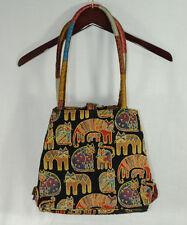 Laurel Burch Fantastic Felines Tapestry Purse Tote Satchel Bag Cat Kitty