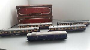 HO Lilliput Rheingold, 5 Wagen und 1 Lokomotive