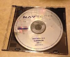 Mercedes Navtech On Board Road Map Data CD 8 Canada