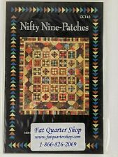 Nifty Nine-Patches Glad Creations Quilt Pattern GC143 Two Sizes New In Package