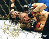 10d028bf56c MICHAEL CHIESA SIGNED AUTO D 11X14 PHOTO BAS COA UFC 232 TUF 15 FIGHT NIGHT