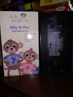 Baby Einstein VHS Tape Baby Da Vinci From Head to Toe DISNEY FREE SHIPPING