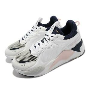 Puma RS-X Softcase White Pink Blue Men Unisex Casual Lifestyle Shoes 369819-11