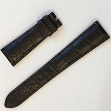 Patek Philippe Original Alligator Strap 21/16mm Dark Brown - Cinturino