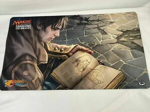Magic MTG Grand Prix Los Angeles 2016 Pore Over Pages Channel Fireball Playmat