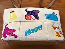 ROSETTI Cat Themed Purse Hand Bag Very, Very, Nice LN Condition See Pictures