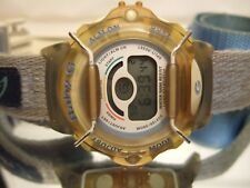 Rare Collectors CASIO Baby G BLUE Watch BG-144 V-3 V 100m-330ft Watch!