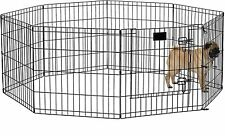 Midwest Black E-Coat Exercise Pen for Dogs, Pets