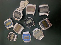 lot of watches Elektronika  vintage watch   USSR - for spare parts and repair
