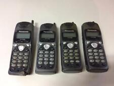 Lot Of 4 X Untested For Part Panasonic Kx-Td7680 Cordless Handset Only