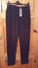 Adidas Girl's  Z.N.E. Black Jogging Bottoms Age 14-15 Years